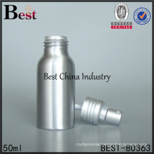 bulk 50ml aluminum bottles with spray
