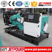 Open Type 100kVA Diesel Generator with Cummins Engine