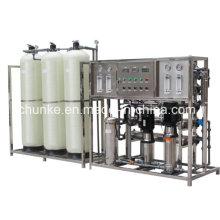 Machine de traitement d'osmose d'inversion de système de RO de l'eau salée