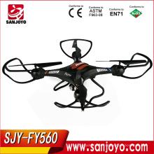 Горячая распродажа SJY-FY560 6 оси гироскопа Профессиональный продвинуть RC вертолет горючего двигатели НЛО со светодиодными индикаторами комплект дистанционного управления игрушки
