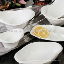 Vajilla de porcelana alemana de restaurante para importador de hotel