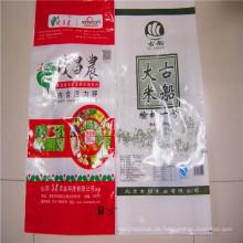 Günstige Preisbeutel PP gewebte Tasche für 5kg 25kg 50kg Reis Verpackung