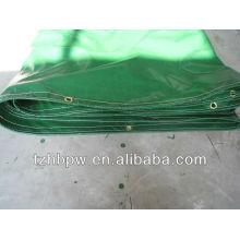 Cobertura revestida PVC do toldo, cobertura revestida PVC do toldo da faca