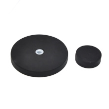 Rubber Pot Magnet Round Base Magnets