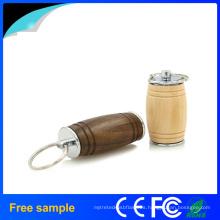 Natural de madera de barril de roble USB Flash Drive 8GB