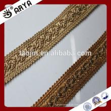 Margem redonda de padrão simples para decoração de cortinas e outra têxtil doméstica
