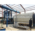 Pneu Waste de maquinaria de Henan Beston / borracha / planta de pirólise totalmente automática de plástico