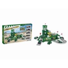 Ensembles de boîtiers en métal moulé Die Set Set Toy-Garage Bases militaires