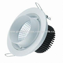 COB 8W LED down light, four sides movement, CE driver, 3 years warranty, CE/RoHS