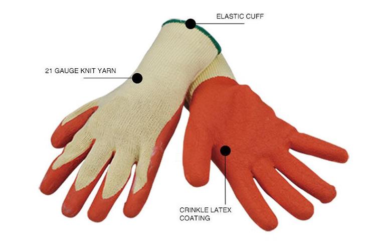 Crinkle Coated Working Glove