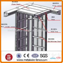 Construcción del sistema de plantilla de aluminio