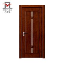 Hölzerne Stahltür des feuerfesten Designs Innen für die Verzierung der Häuser hergestellt im Porzellan
