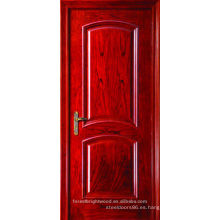 Red Oak Interior Arch Top puerta de madera