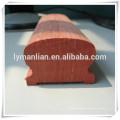 Pasamanos de escalera de barandilla de roble rojo para uso en exteriores