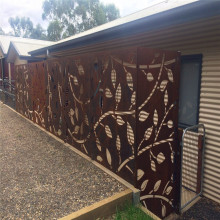 Outdoor Decorative Screens Laser Cut Fence