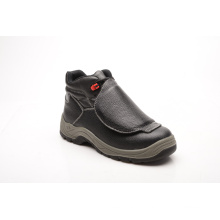 Casual Style Split Embossed Leather & PU Safety Shoes (HQ05073)