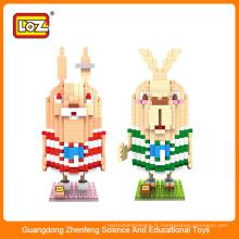 Jouet pour enfants reliant les blocs de construction en plastique de diamant LOZ, jouet de construction