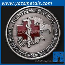personalize metal 55th Medical Group, Offutt AFB, NE desafio moeda