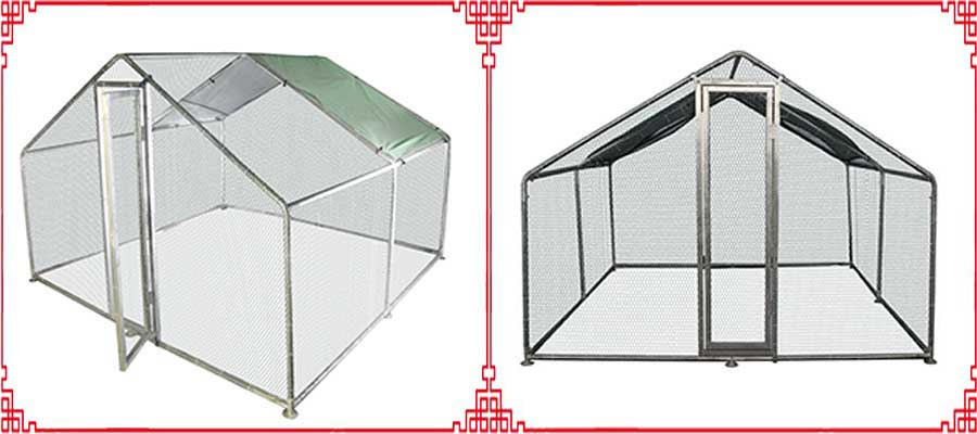 galvanized chicken coops