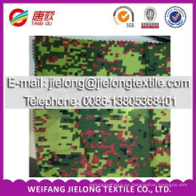 T / C camuflaje tejido stock impreso para la ropa en weifang china