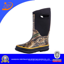 Antideslizante impermeable niños botas de neopreno de camuflaje (NE-01)