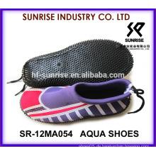 SR-14WA054 Schöne Dame Spaziergang auf Wasser Schuhe Aqua Wasser Schuhe Aqua Schuhe Wasser Schuhe Surfen Schuhe