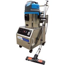 Electric steam cleaning maching and vacuum cleaner