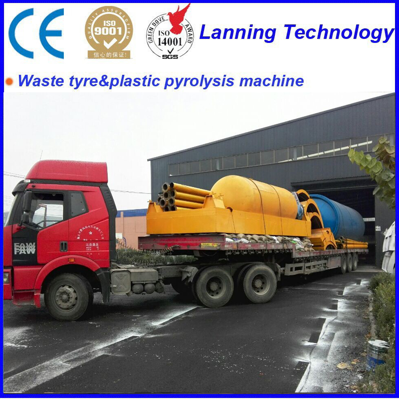 high+oil+output+new+waste+tyre+pyrolysis+machine