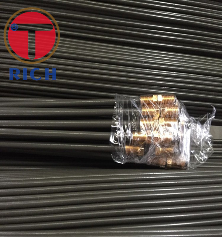 SAE J526 PVF/ Copper Coating Single Wall Bundy Tube For Brake System