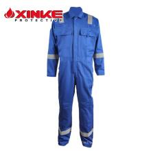 Vêtements de travail ignifuges modacryliques pour l'industrie