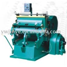 máquina de corte presión llana