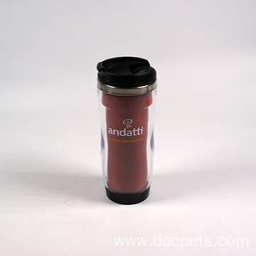 advertising travel mug for coffee or tea