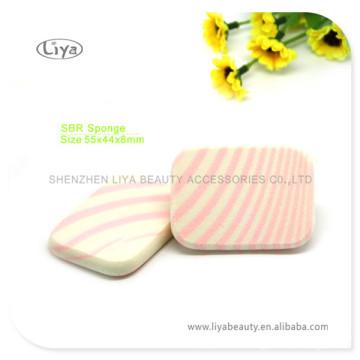 Beliebte Großhandel SBR Latex Schwamm Puffs für Mädchen