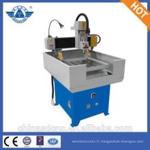 Bonne qualité CNC routeur machine à graver des métiers d'art/anneau/Jade avec le prix usine