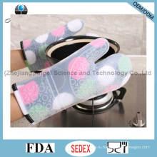 Праздничные рекламные силиконовые теплые перчатки и длинные перчатки Sg25