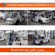 4*2 Tow Crane Road Wrecker Rescue Wrecker Truck with Crane