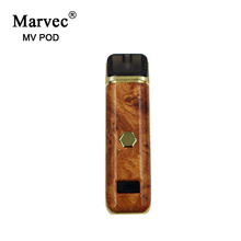 Marvec 2019NewProduct Kit POD rechargeable Vape LED Mini Cigarette rechargeable rechargeable à puissance variable POD Cigarette électronique