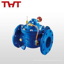 válvula de control hidráulica del flotador para el tanque de agua
