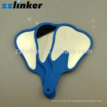 OEM Buntes Glas Dental Handwerk Zähne Form Spiegel