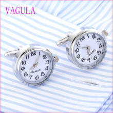 VAGULA Quality Hot Sales Watch Gemelos Silver Cufflinks   (328)