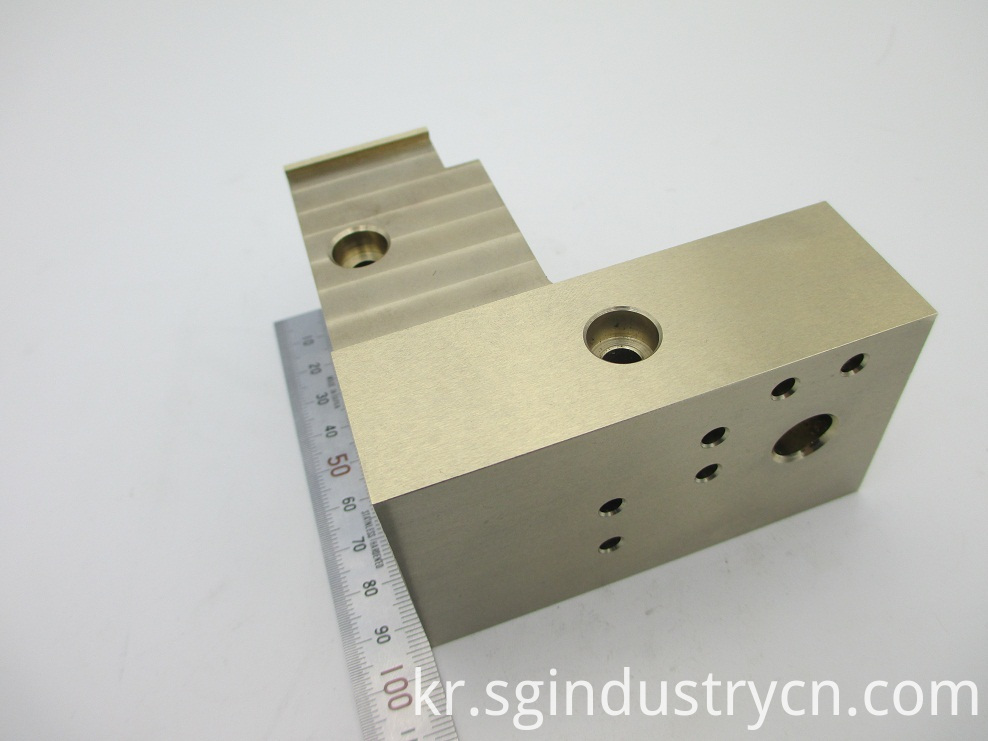 Brass Material Custom CNC Parts