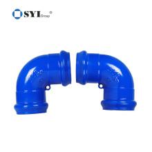 ISO 1083 ISO 2531 EN 545 EN598 Tubos de PVC de ferro dúctil Conexões para projetos de dutos