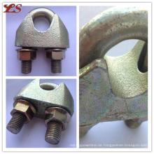 China Made DIN1142 Temperguss Drahtseil Clips