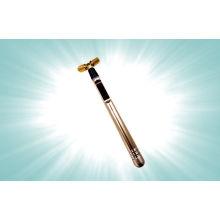Home Use Galvanic Facial Beauty Equipment Skin Care Kit 24k Gold Facial Cleanser Massager Bar