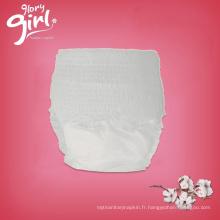 Les fabricants jetables super absorbants de couche-culotte de bébé absorbant en Turquie