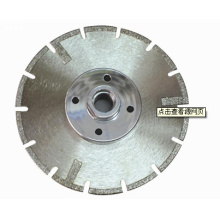 for Stone Cutting Saw Diamond Blade with Flange