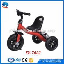 Los cabritos al por mayor de la alta calidad montan en los triciclos de los juguetes con las ruedas del aire / el nuevo modelo popular tres triciclos / bebé del triciclo