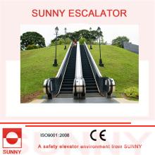 Escalera mecánica al aire libre con barandillas de goma de colores, Sn-Es-Od036