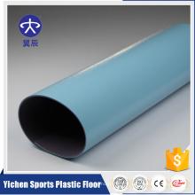Plancher coloré de rouleau de vinyle de PVC de plancher de PVC de salle de classe de motif d'onde