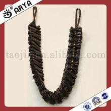 Cuerda del tieback de la cortina de la alta calidad, postes de la cortina, cuerdas para la cortina aprietan y la decoración